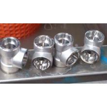 Encaixe de alta pressão de aço forjado da solda do soquete