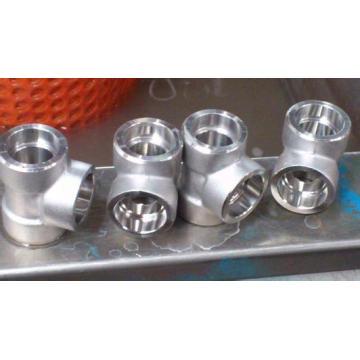 Accesorio de soldadura de enchufe roscado de alta presión de acero forjado