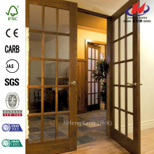 Classic Clear Glass Composite Single Prehung Interior Door