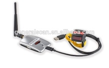GS 1D laser bluetooth spp barcode scanner work with usb bluetooth adapter/dongle for computer