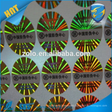 On sale fast delivery Barcode Feature PET Material label scratch off sticker hologram security label
