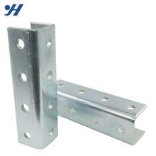 Especificação perfurada de dobra do ferro de canal do material de aço frio, barra de canal da forma de U