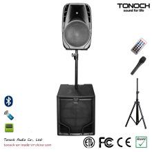 Boa qualidade 18 polegadas Class-D Subwoofer PA sistema PRO Speaker
