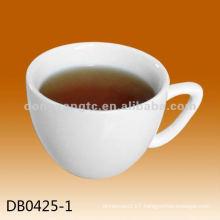 Wholesale customized logo glazed porcelain mug