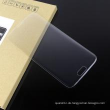 Hohe Qualität! Anti Scratch 3D Curved Edge Mobile Displayschutzfolie aus gehärtetem Glas für Samsung s7