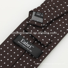 Étiquette tissée personnalisée par polyester
