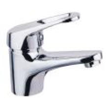 Robinet de salle de bains en laiton chromé avec filigrane (502.10.01)
