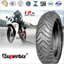 Pneus Tubeless moto professionnel (130 / 70-12)