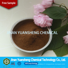 Additif de pâte eau-charbon de lignosulfonate de sodium