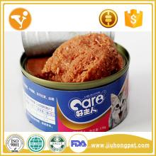 Кошачьи корма Мокрые консервированные цельные тунцы Консервированные продукты для кошек