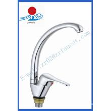 Einhand-Küchenarmatur Messing Wasserhahn (ZR21809-A)