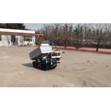 Mini volquete hidráulico del tractor de la pista para mover