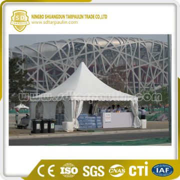 Waterproof PVC Tarpaulin Poly Coated Tent Fabric