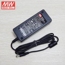 Adaptador médico original MEANWELL 24VDC 1.5A 3 anos GSM40B24-P1J