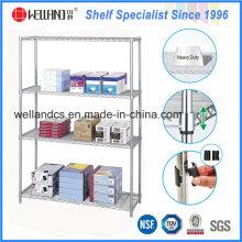 Porte-étagères NSF Chrome Wire pour meubles métalliques de bureau
