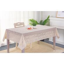 Home Toalha de mesa de renda estampada linda toalha de mesa de PVC