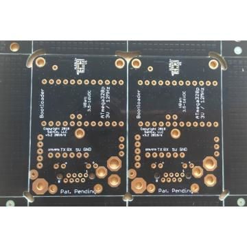 touch sensor PCB 2 layer 1.6mm black solder ENIG