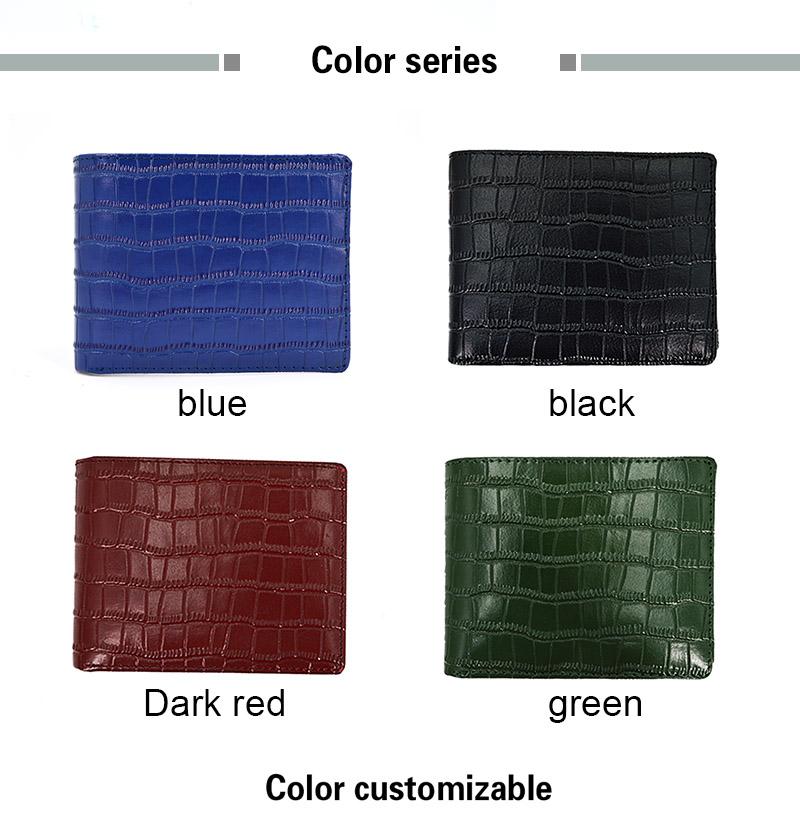 Men Men's Best Brands Customized Minimalist Slim Leather Wallet
