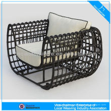 Latest Design Aluminum Round Wicker Outdoor Nest Chair