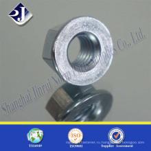 Торцевая гайка DIN 6923 Zinc Flange Nut