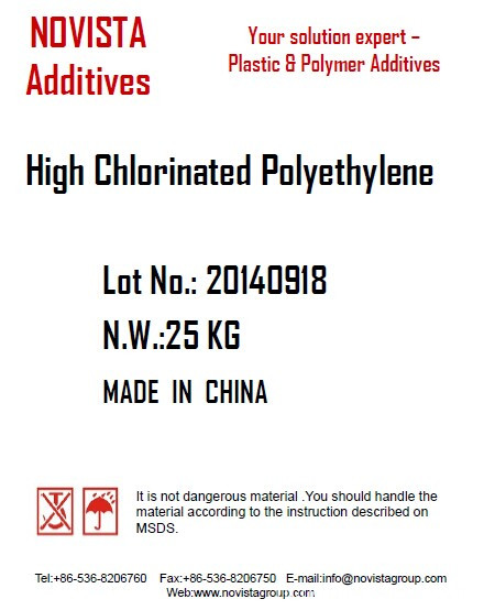 High chlorinated Polyethylene HCPE