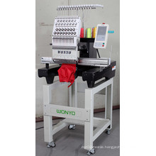 Single Head Machinery for Embroidery on Cap, T-Shirt, Flatbed