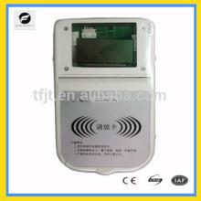 Medidor prepago inteligente, medidor de control remoto de medidor de agua caliente tarjeta RF para agua fría