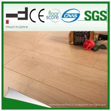 Plancher stratifié classique de chêne standard de chêne de Carb