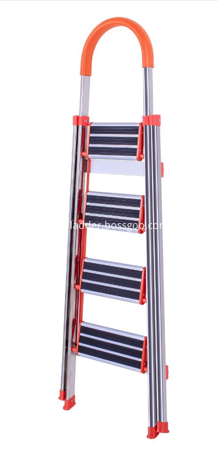 Non slip household 5 steps ladder