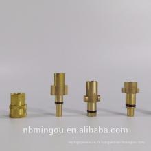 Connecteur de tuyau de lance de mousse / adaptateur de lance de mousse / adaptateur de connexion rapide
