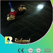 Commercial 12.3mm E1 Mirror Walnut Waterproof Laminated Floor