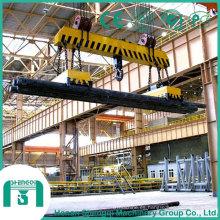 Fabricante de China 2016 grúa de arriba del imán de elevación de 5 toneladas
