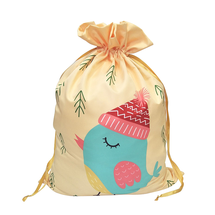Printed Pattern Christmas Sack
