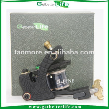 Getbetterlife Top Casting Machine Iron Frame Silver Contact Liner 10Wraps Tattoo Machine Designs