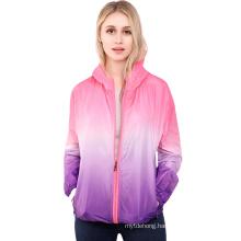Custom Anti UV Sun Protection Quick Dry Jacket Lightweight Windbreaker