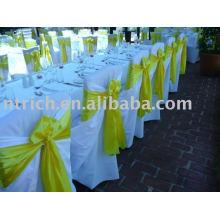 couverture de 100 % de polyester chaise, chaise Hotel/Banquet couvre