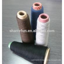 100% pure laine de cachemire peignée teinte 28/2