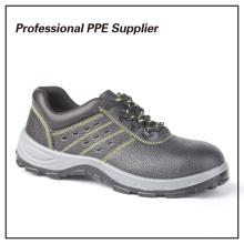 Zapatos de trabajo de seguridad de verano transpirables de inyección de PU