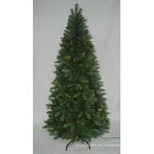 PE Realist Künstlicher Weihnachtsbaum mit String Licht Multi Farbe LED Dekoration (AT2117)