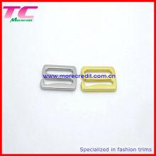 Alta qualidade ajustável lingerie anel slider set, fivela de sutiã
