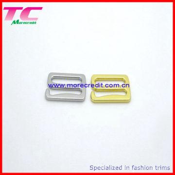 Ensemble de glissière réglable en anneau de lingerie de haute qualité, boucle de soutiens-gorge