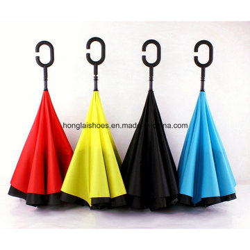 Double Reverse Sunshade Umbrella