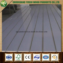 Hot Sale High Quanlity Melamine Slotted MDF