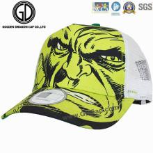 Hochwertiger kundengebundener Druck-Sport-Baseballmütze u. Fernlastfahrer-Hut