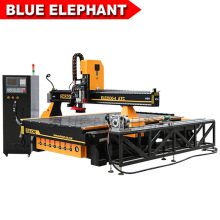 Blue Elephant 4 Axis Foam Oscillating Cutting CNC Router for Wooden Table Leg