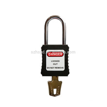 Safety padlock with steel shackle, corrosion resistance and high quality