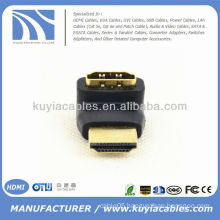 90 Degree Mini HDMI To HDMI Adapter Connector Male To Female