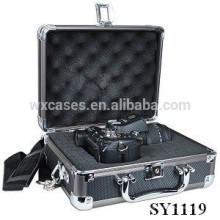 insertar caja de vuelo de alta calidad aluminio cámara con encargo de la espuma
