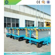 2.0t 10m Warehouse Crane Scissor Lift Platform