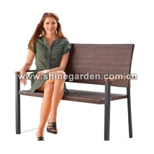 Outdoor/Garden Furniture wicker double chair